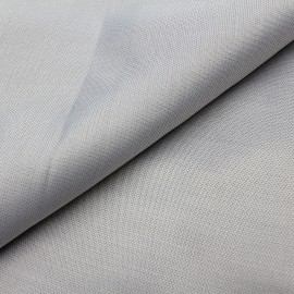Radiation Protection Shield Ivory white silver fiber fabric