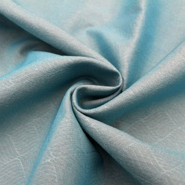 Radiation shield light blue silver fiber conductive fabric for maternity clothes