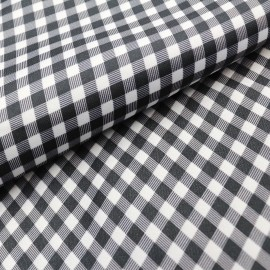 Silver fiber radiation protective Shepherd Check printing anti-radiation fabric